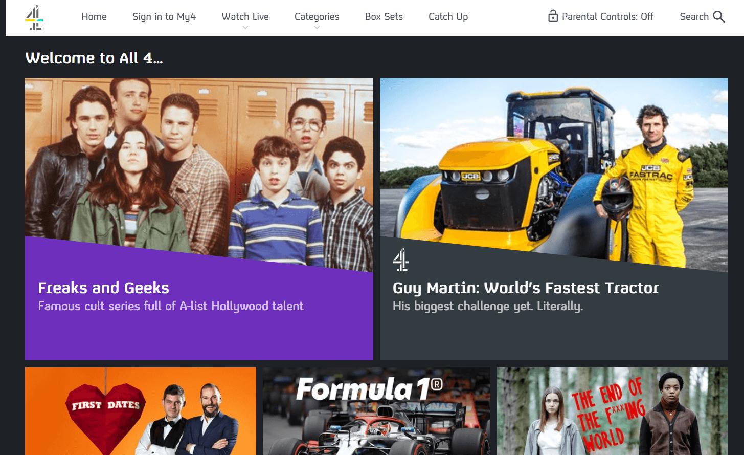 Channel 4 UK