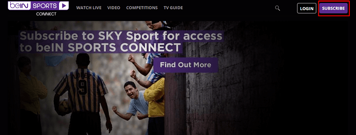 step-1-subscribe-button-of-bein Sports Connect