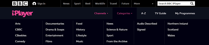 categories-of-bbc-tv-channels