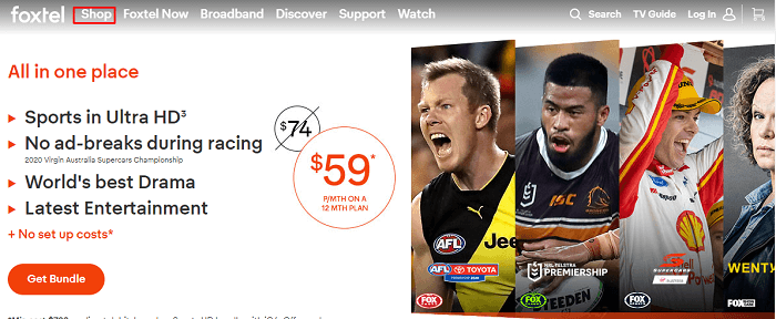 shop-cart-option-on-foxtel