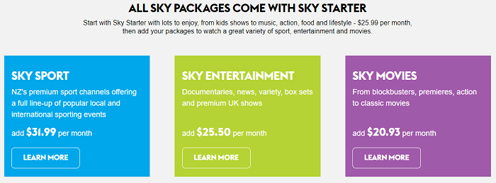 sky-tv-four-pricing-packages