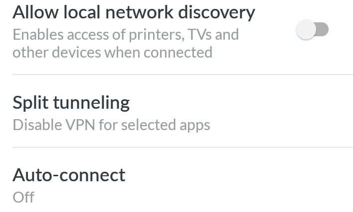 nordvpn-features-provided-on-settings-menu