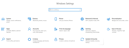 network-and-internet-option-on-windows
