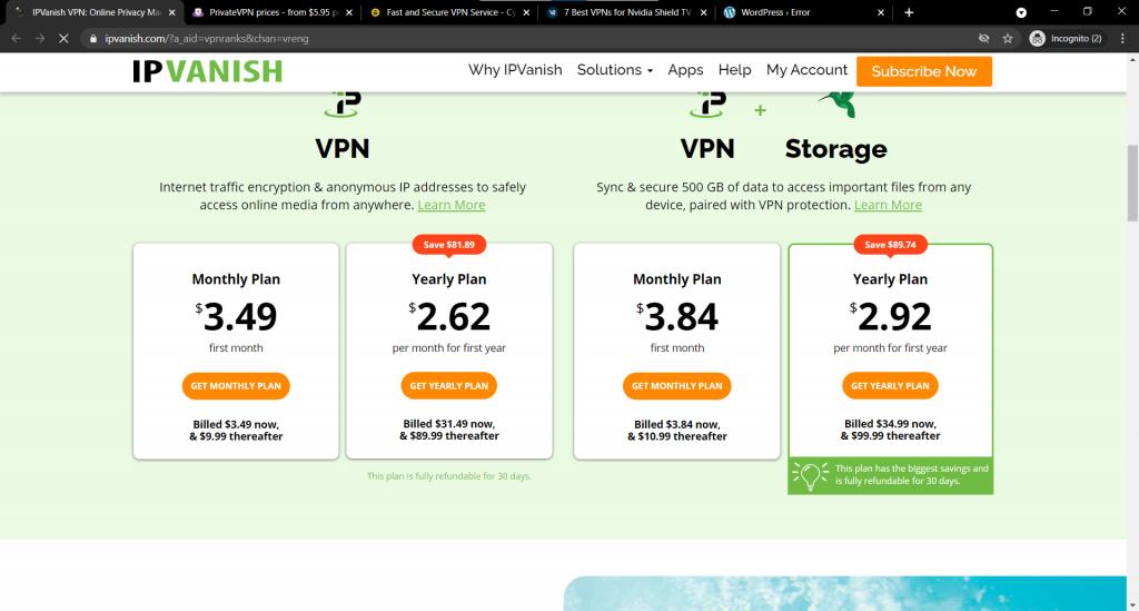 ipvanish-pricing-package-best-vpn-netflix