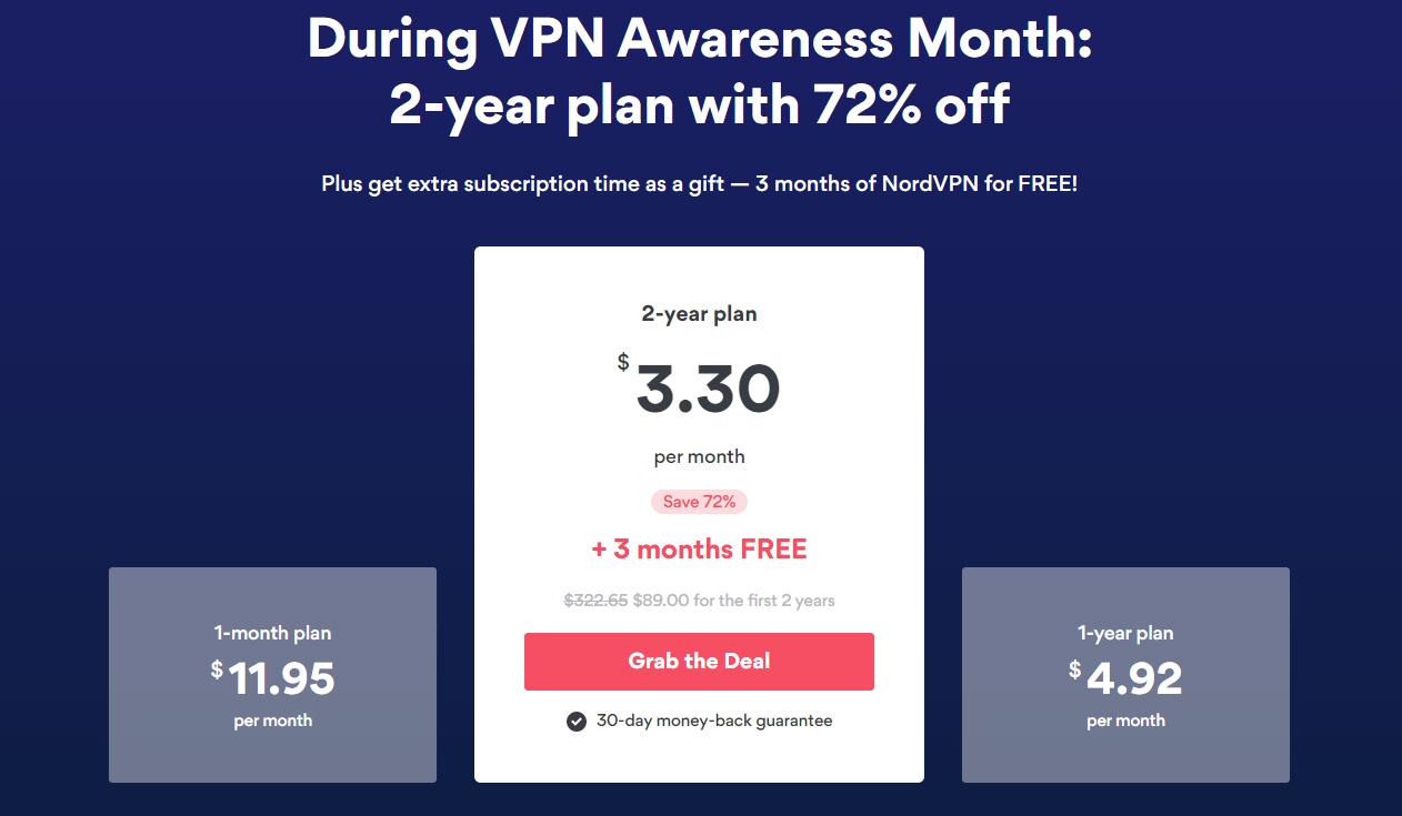 nordvpn-vpn-awareness-month-prices